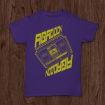Ghetto Blaster Purple